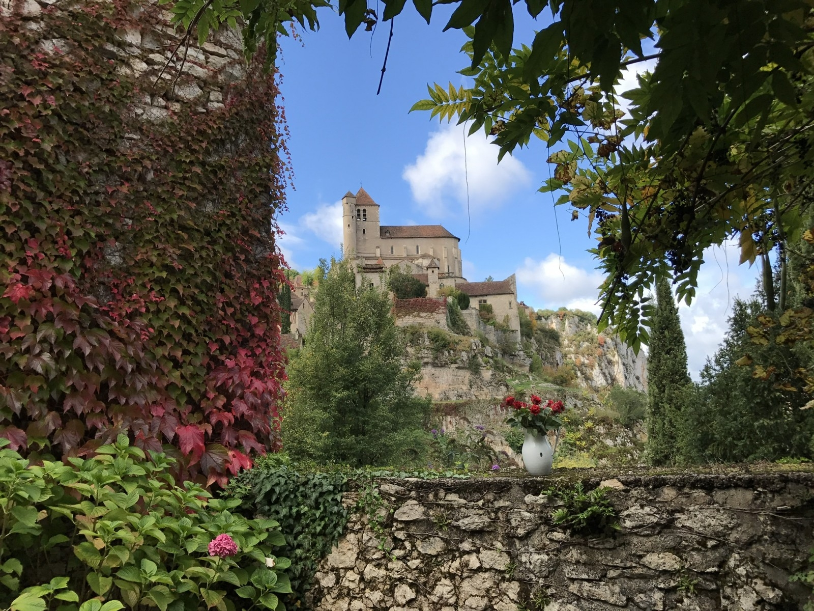 View from Garden September 2017