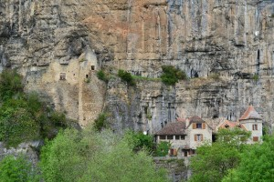 Trogolodyte Houses: flat Medieval facades cover rooms in prehistoric caves.